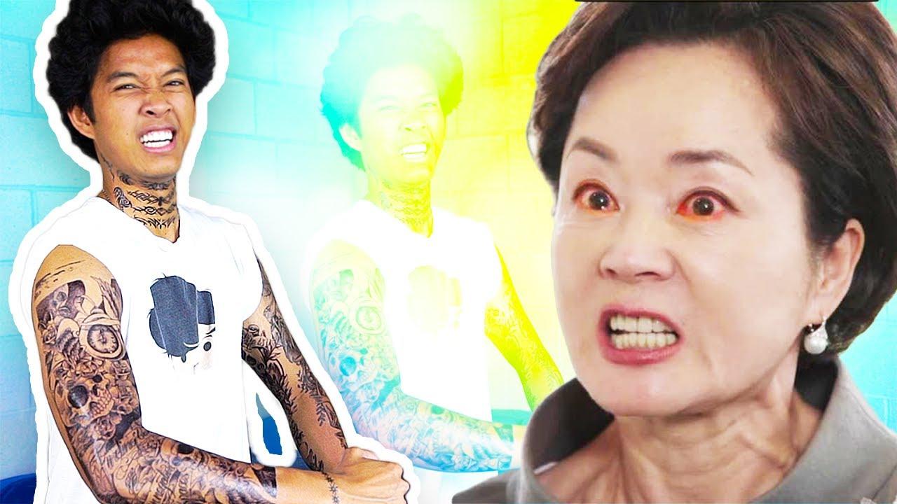 487550a95acf6 Tattoo Prank On My Mom!! - YouTube