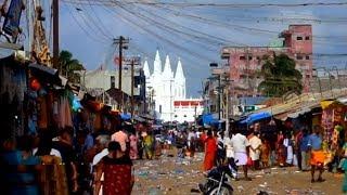 Velankanni street market