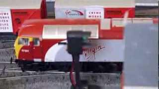 Hornby Bachmann Oo Gauge Virgin Trains On Layout Class 43 Hst 57 Thunderbird 90 Mk3 Alstom Pendolino