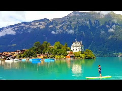 Interlaken, Switzerland - Town between two Lakes
