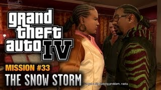 GTA 4 - Mission #33 - The Snow Storm (1080p)