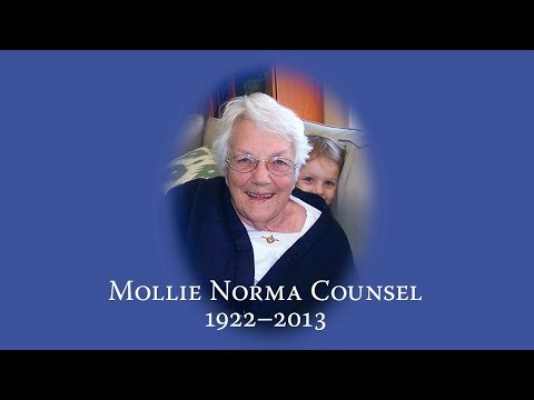 Mollie Norma Counsel 1922-2013