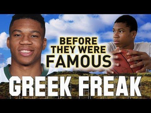 GIANNIS ANTETOKOUNMPO - Before They Were Famous - The Greek Freak / Milwaukee Bucks