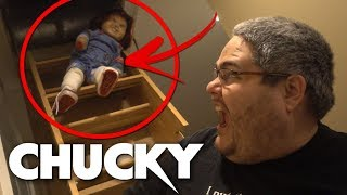 THE CHUCKY DOLL HALLOWEEN PRANK! (IN THE ATTIC)