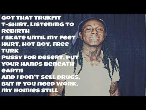 My Homies Still - Lil Wayne Ft Big Sean (Lyrics)