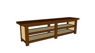 Sofa Table Plans