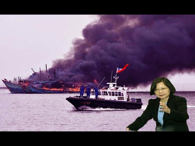 Đài Loan thẳng tay N.ổ S.úng bắn tàu TQ - Tấm gương dành cho VN