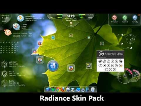 skin tuyệt đẹp cho màn hình desktop