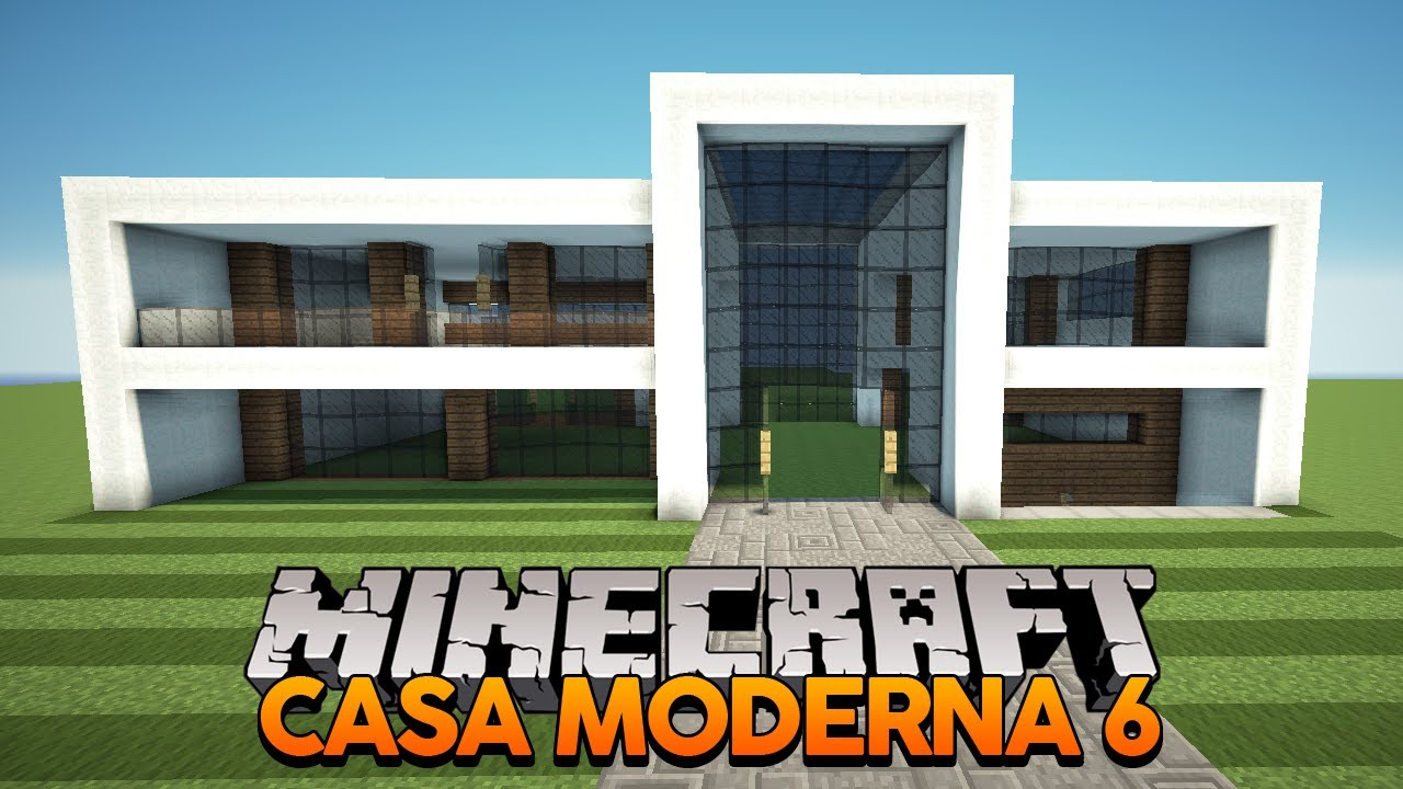 Mapa casa mordena dl para minecraft b9 youtube for Casa moderna minecraft 0 12 1