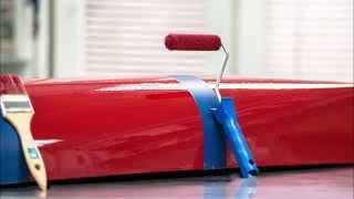 Farba poliuretanowa malowanie pędzlem i wałkiem