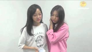 engsub sohye and sejeong reaction to jea