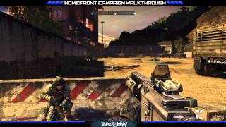 Homefront Campaign Walkthrough - Mission 7 (Golden Gate) Part 1/2 [HD 1080p]