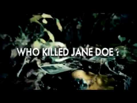 Megan Poppy for Who killed Jane Doe promo
