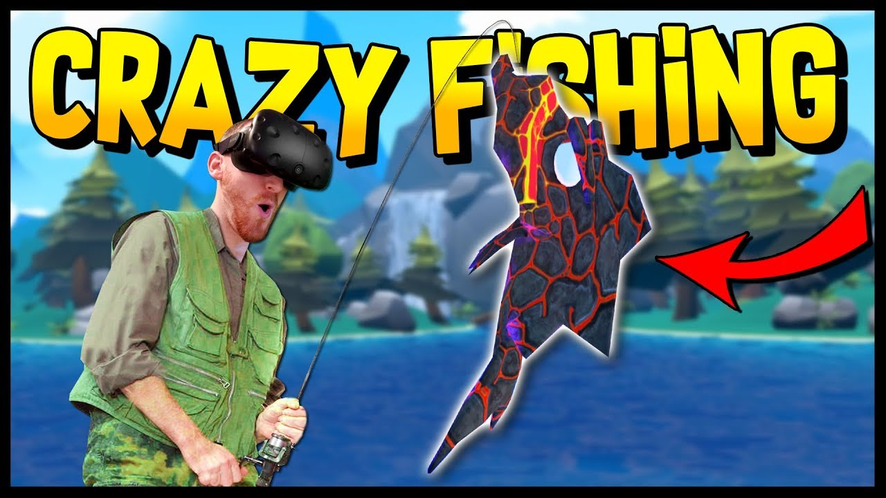 The legendary lava fish finding the secret cave crazy for Crazy fishing videos