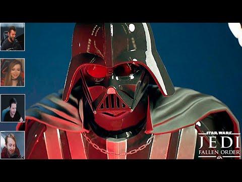 Реакция Летсплейщиков на Появление Дарта Вейдера в Star Wars Jedi Fallen Order
