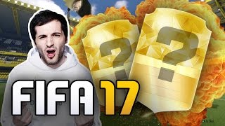 FIFA 17 Pack Opening #1 - WALK OUT PLAYER !