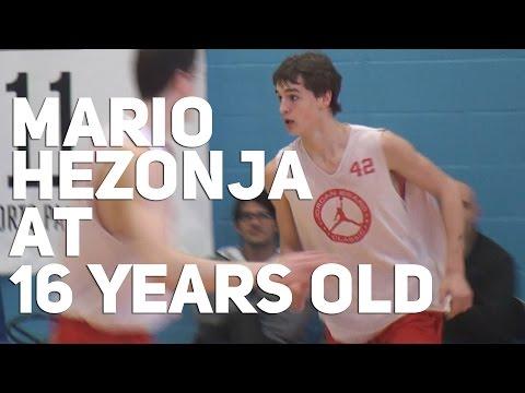 16 Year Old Mario Hezonja At Jordan Brand Classic 2011! NBA Draft 2015 Projected Lottery Pick
