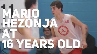 16 Year Old Mario Hezonja at Jordan Brand Classic 2011! NBA Draft 2015 Projected Lottery Pick