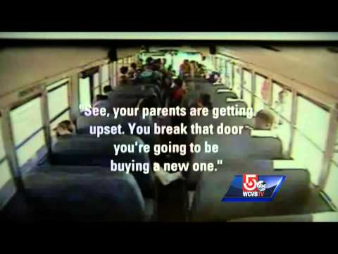 Video shows bus driver refusing to let students off bus
