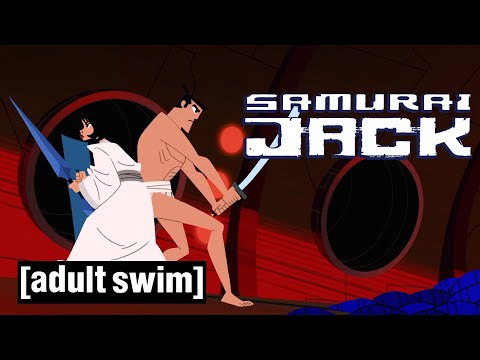 Samurai Jack | Jack & Ashi vs. Lazarus-92 | Adult Swim UK 🇬🇧