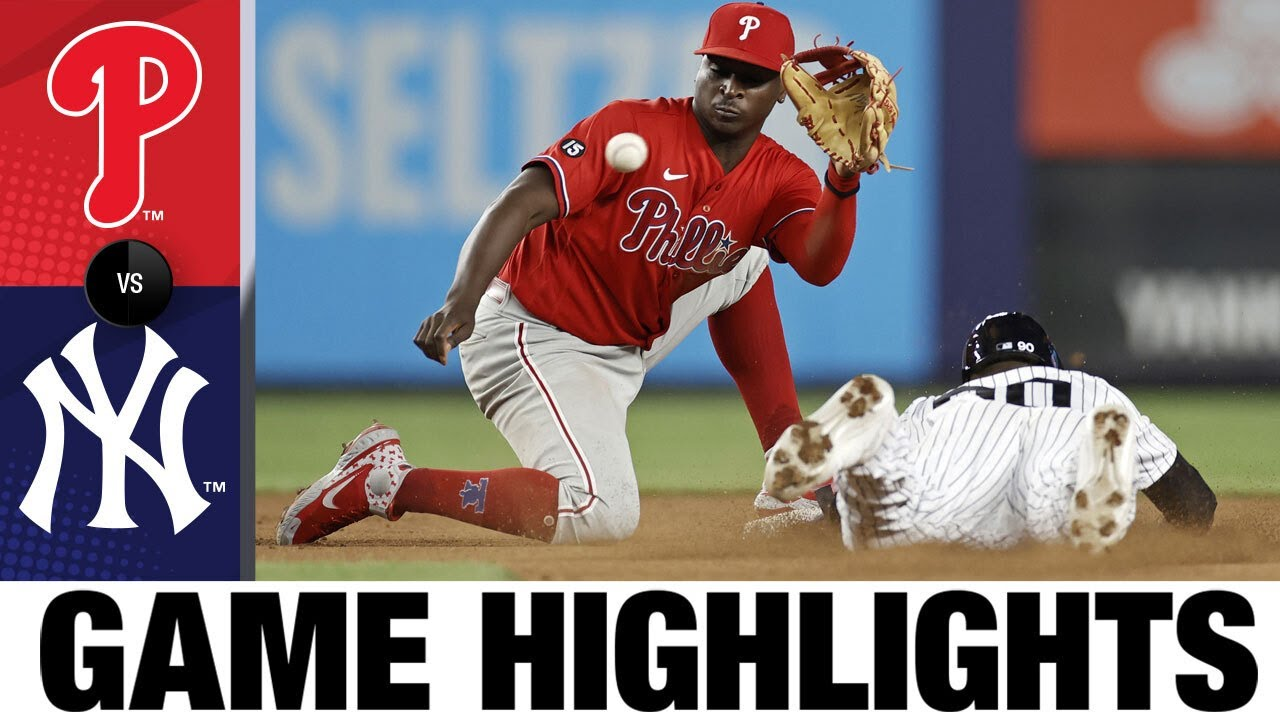 Download Phillies vs. Yankees Game Highlights (7/21/21) | MLB Highlight