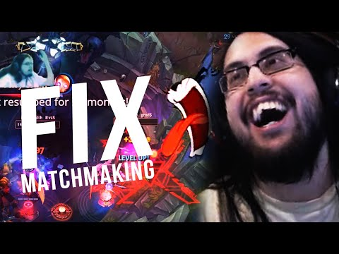 FIXING MATCHMAKING WILL SAVE LEAGUE OF LEGENDS!!