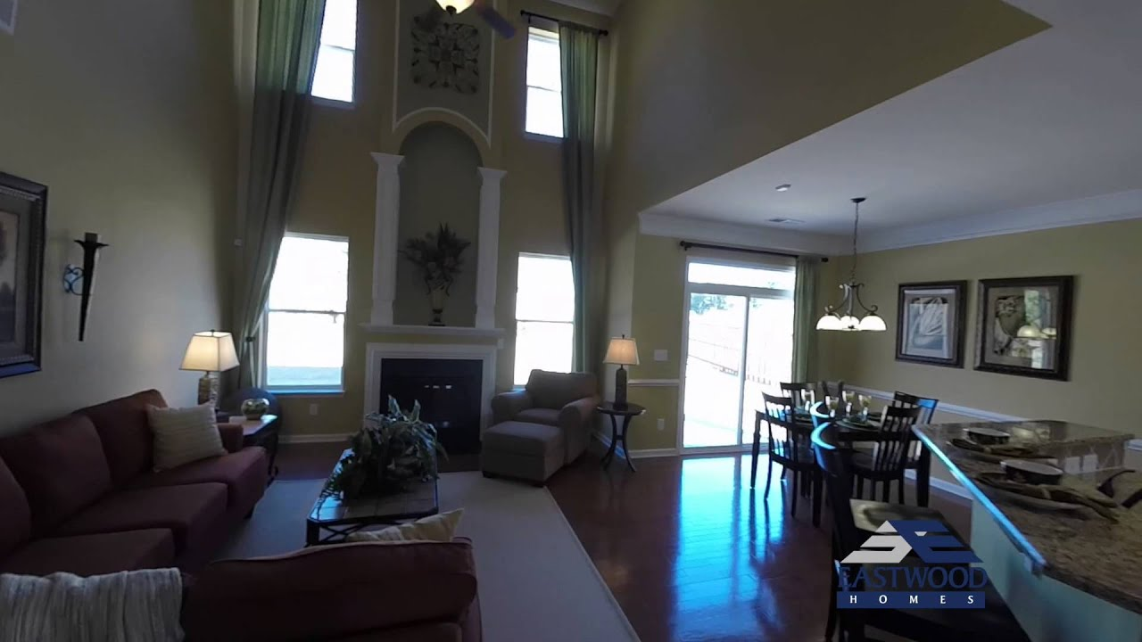 The Raleigh | New Homes Charlotte, NC | Eastwood Homes - YouTube