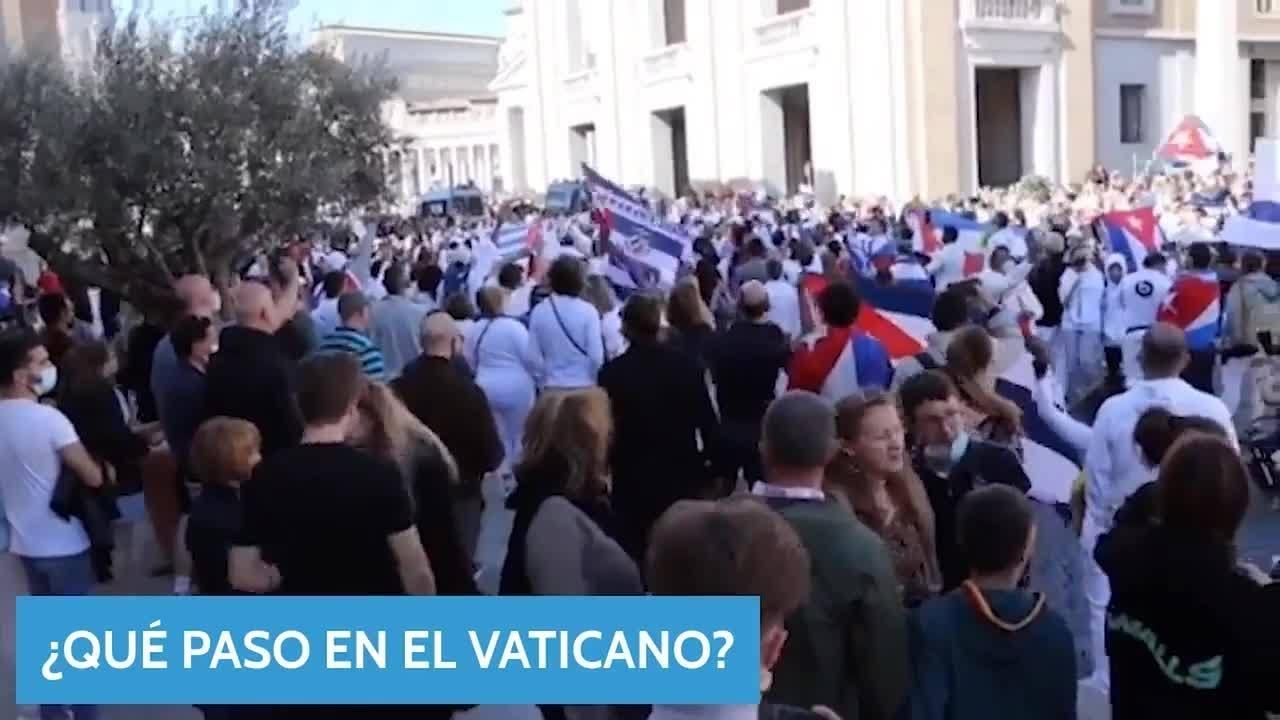 ¿Qué pasó en el Vaticano? La iglesia le da la espalda cientos de cubanos