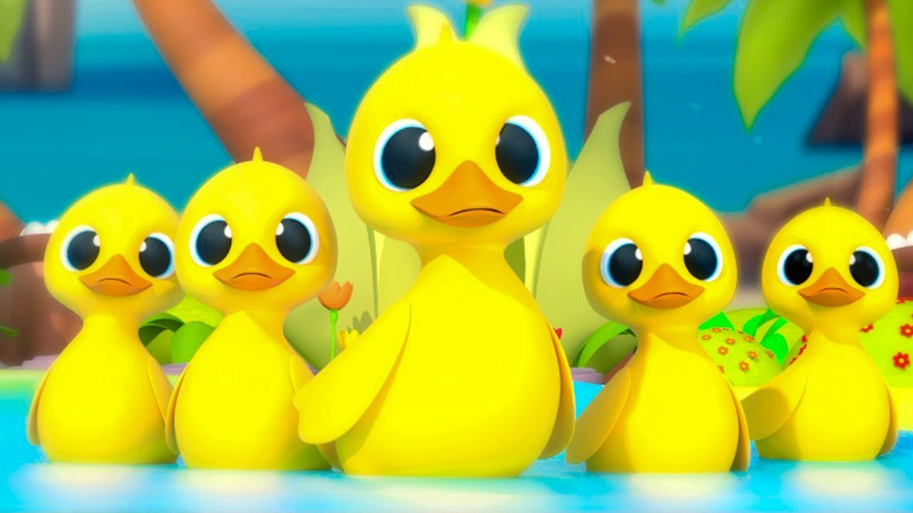 🦆 Five Little Ducks 🦆 THE BEST Song for Children   Mirror of Years
