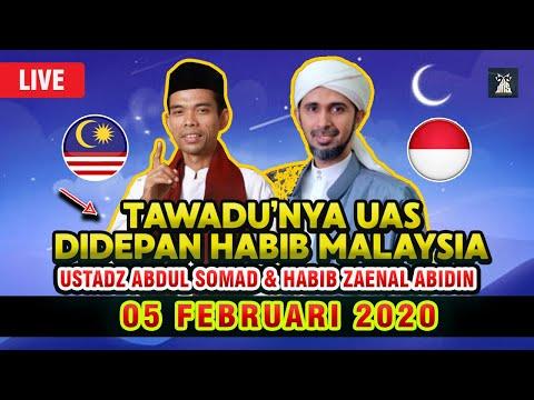 tawadu'nya-uas-ceramah-dihadapan-habib-zaenal-abidin-malaysia