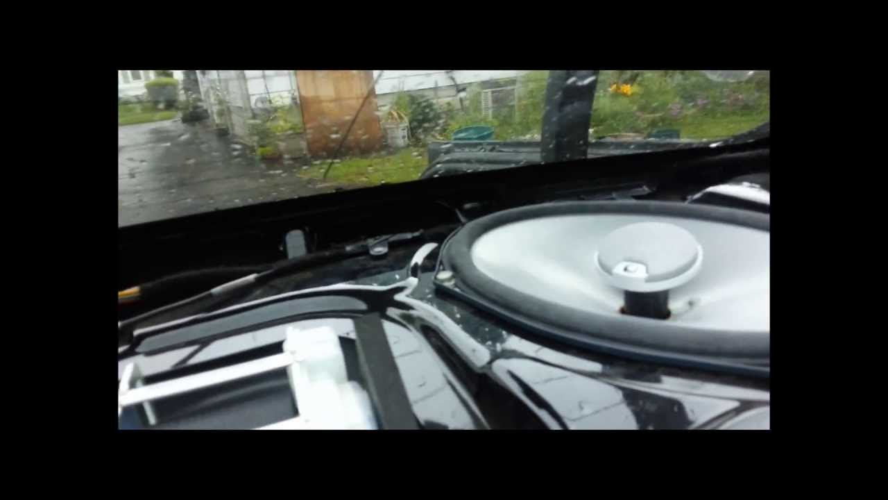 2011 2013 Dodge Charger Aftermarket Speakers Upgrade Youtube