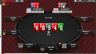 I Cash in a $100k Online Poker Tournament
