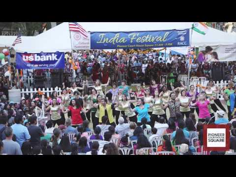Pioneer Courthouse Square India Festival 2015