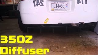 homepage tile video photo for Nissan 350Z Alumalite Diffuser (Part 3)