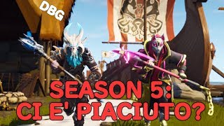 Fortnite: Let's comment on the whole new Battle Pass! Season 5 Dbg