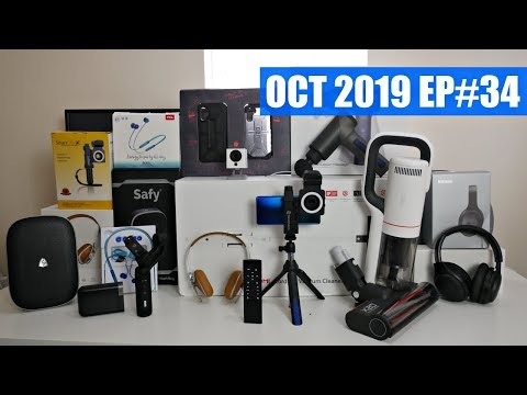 Coolest Tech of the Month OCT 2019 – EP#34 – Latest Gadgets You Must See