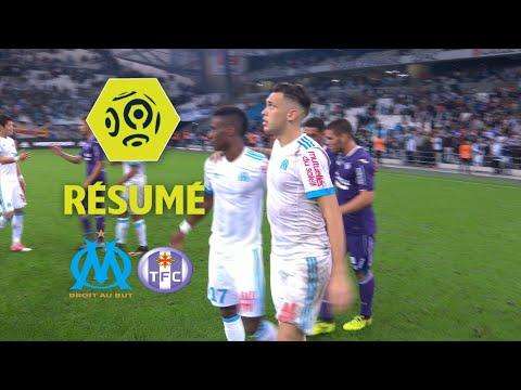 Olympique de Marseille - Toulouse FC (2-0)  - Résumé - (OM - TFC) / 2017-18