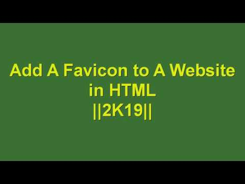 Add A Favicon to A Website in HTML   Learn HTML and CSS   HTML Tutorial   HTML for Beginners thumbnail