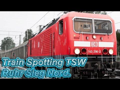 TSW - Train Spotting - Ruhr Sieg Nord - Train Sim World  