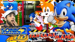 Fan game mania - sonic 2 hd demo 2.0 (4k 60fps)