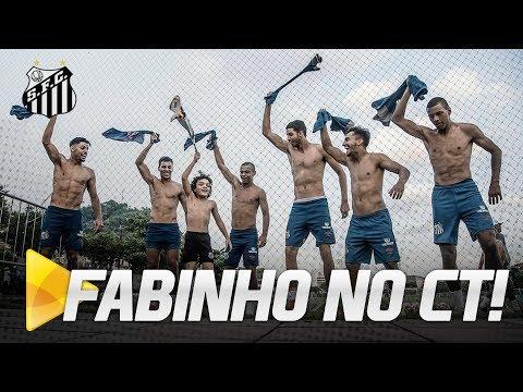 FABINHO FAZ A FESTA COM JOGADORES!