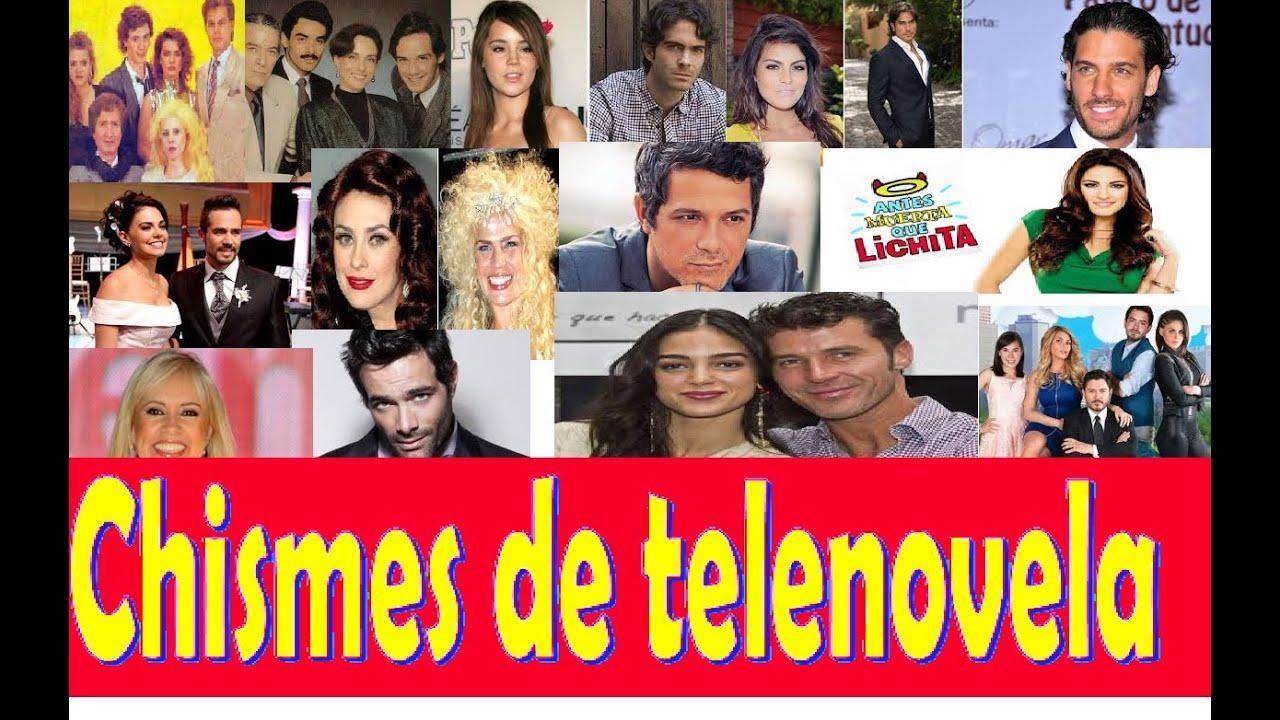 Rumores de telenovela noticias chismes 2015 youtube for Chismes de espectaculos