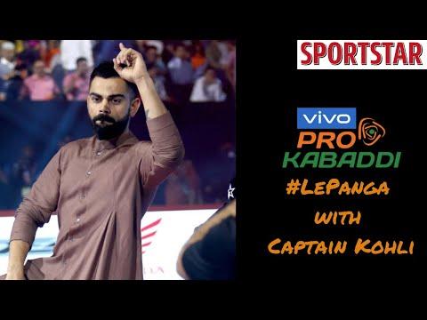 ProKabaddi League - Indian captain Virat Kohli picks his
