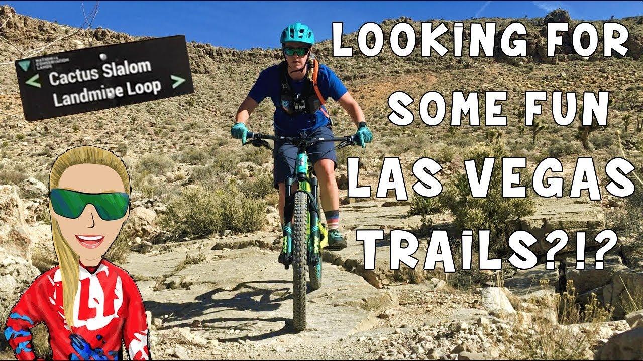 90c427507 LANDMINE LOOP    VEGAS MOUNTAIN BIKING TRAILS - YouTube