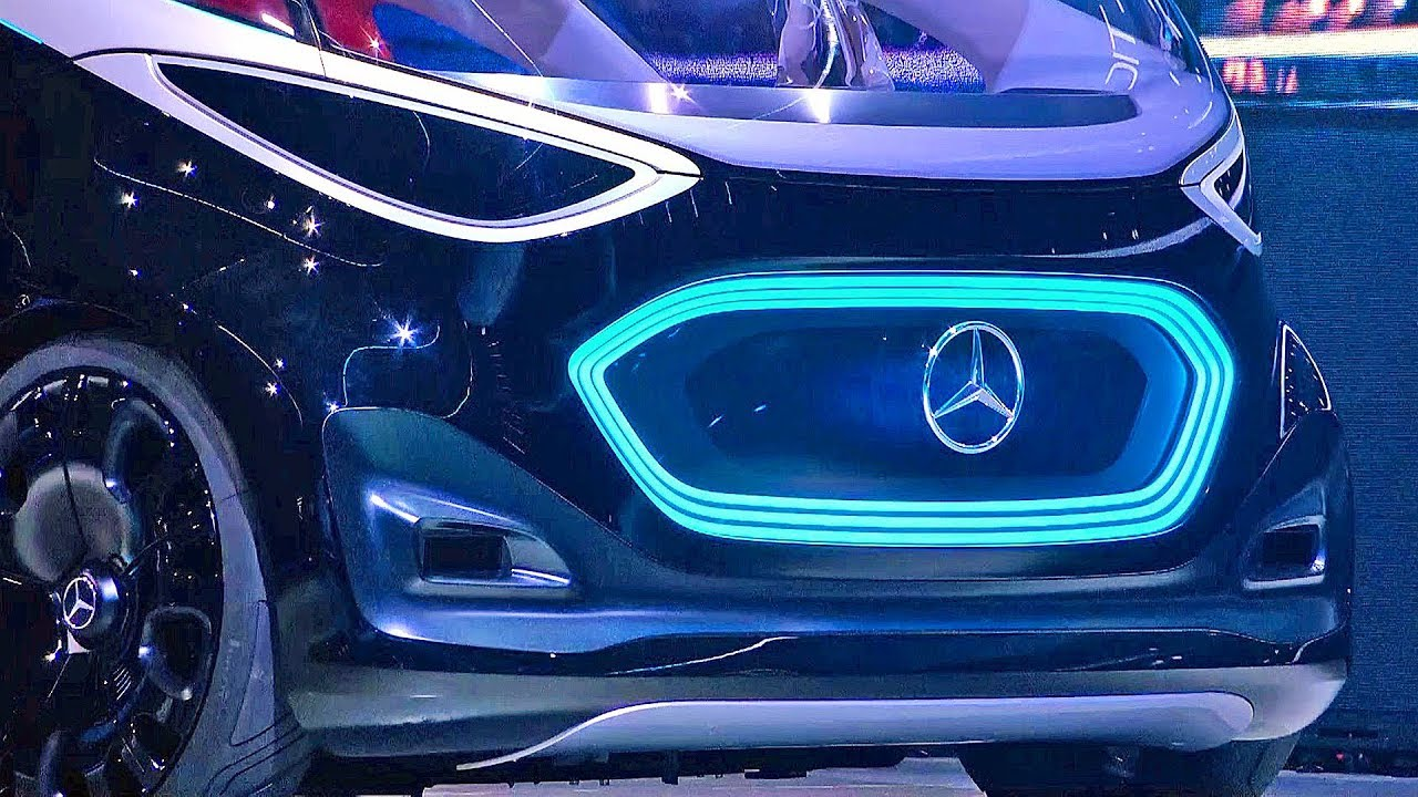 Mercedes Vision Urbanetic Van Of The Future Youtube