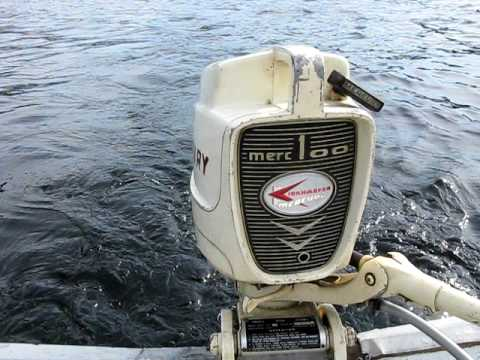 1960 mercury 100 outboard motor 9 8hp youtube rh youtube com Mercury 110 Fuel Line Mercury 2 Stroke Parts