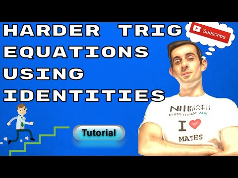 SOLVING HARD TRIG EQUATIONS USING DOUBLE ANGLE AND COMPOUND ANGLE IDENTITIES