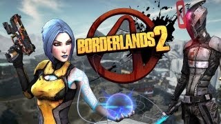 Borderlands 2 NEW Gameplay + PC Co-op Hands On Impressions! Salvador and Maya