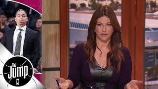 Rachel Nichols says Cavs head coach Tyronn Lue's ballpark return