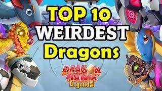Top 10 WEIRDEST DRAGONS In DML 2019